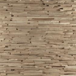Zoom panneaux muraux en chêne